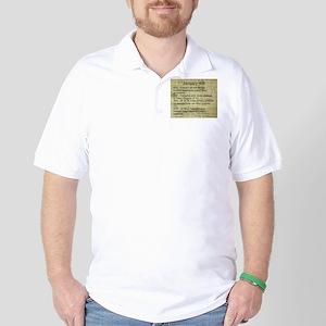 January 4th Golf Shirt