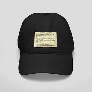 January 22nd Black Cap