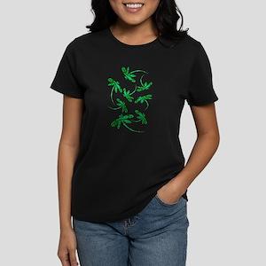Dragonflies Neon Green T-Shirt