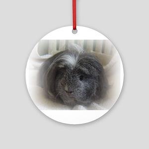 Coronet Cavy (Guinea Pig) Ornament (Round)