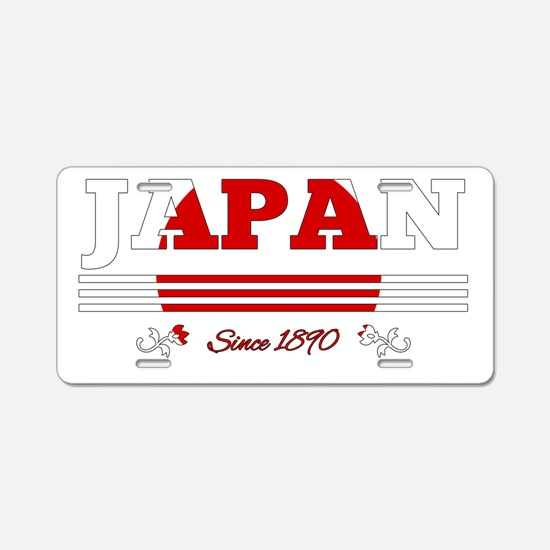 Japan since 1890 Aluminum License Plate