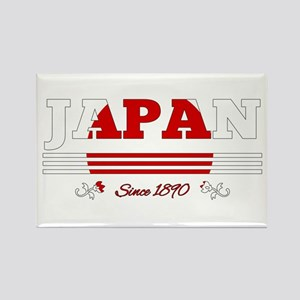 Japan since 1890 Magnets