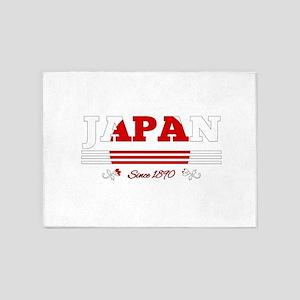 Japan since 1890 5'x7'Area Rug