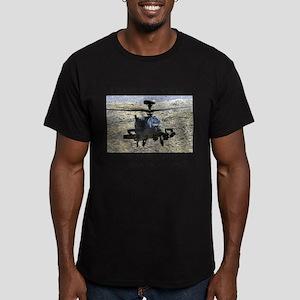 Airpower! Men's Fitted T-Shirt (dark)