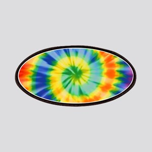 Printed Tie Dye Pattern Patches