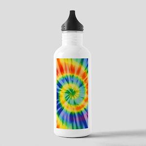 Printed Tie Dye Pattern Water Bottle