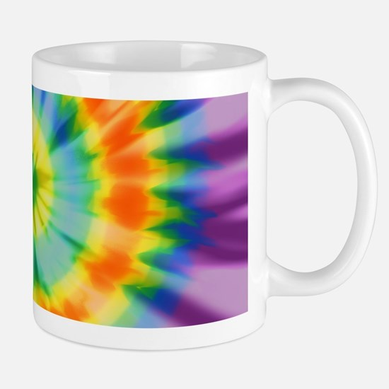 Printed Tie Dye Pattern Mugs