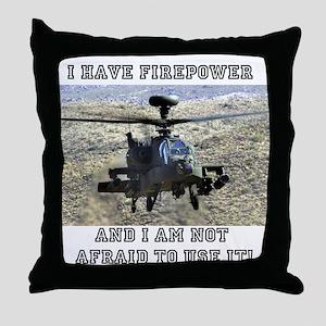 Airpower! Throw Pillow