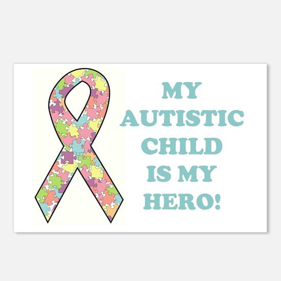 MY AUTISTIC CHILD... Postcards (Package of 8)