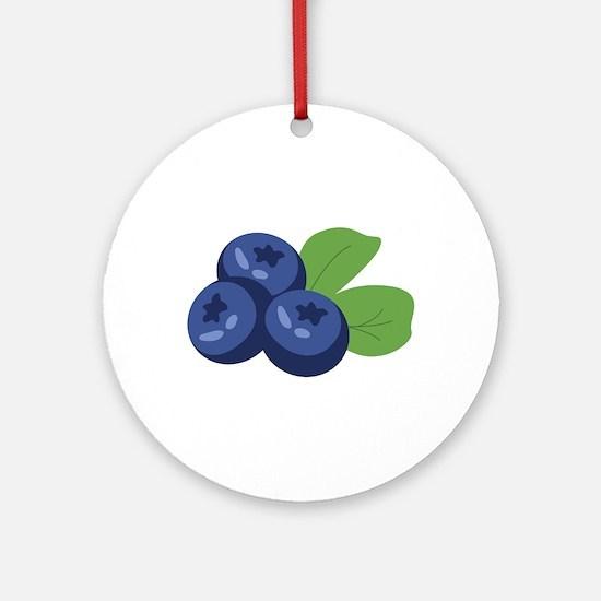 Blueberry Ornament (Round)