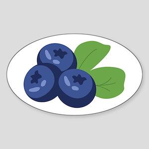 Blueberry Sticker
