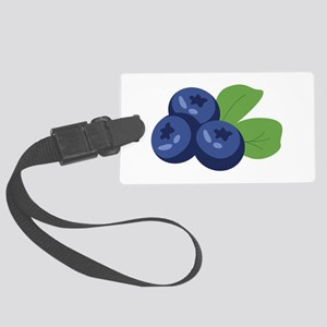 Blueberry Luggage Tag
