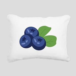 Blueberry Rectangular Canvas Pillow
