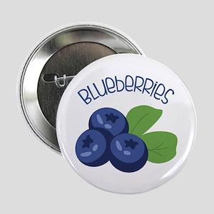 "BLUEBERRIES 2.25"" Button"
