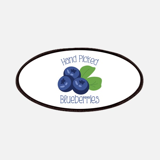 Hand Picked Blueberries Patches