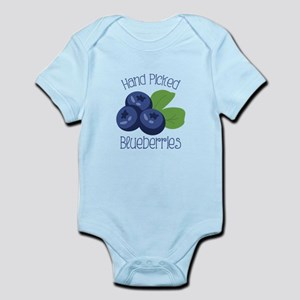 Hand Picked Blueberries Body Suit
