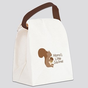 Mamas Little Squirrel Canvas Lunch Bag