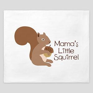 Mamas Little Squirrel King Duvet