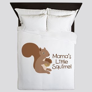 Mamas Little Squirrel Queen Duvet
