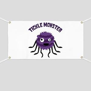 TICKLE MONSTER Banner