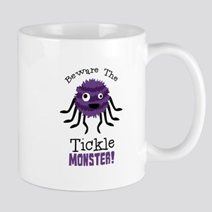 Beware The Tickle Monster! Mugs