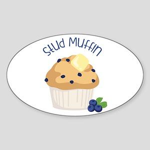 Stud Muffin Sticker