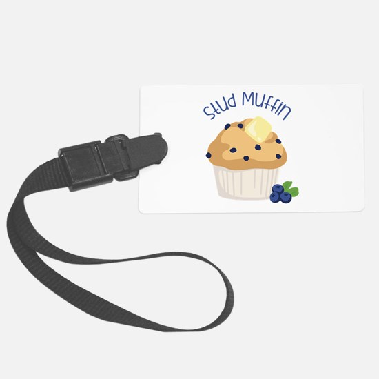 Stud Muffin Luggage Tag