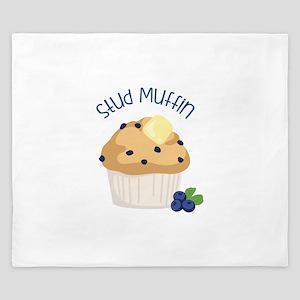 Stud Muffin King Duvet