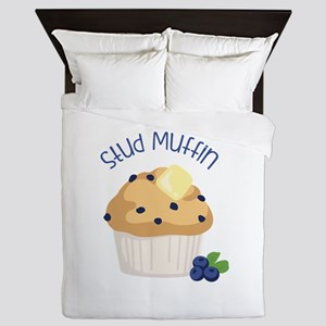 Stud Muffin Queen Duvet