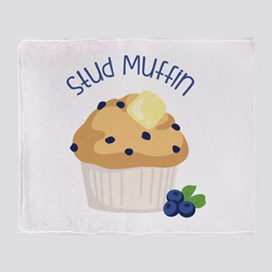 Stud Muffin Throw Blanket