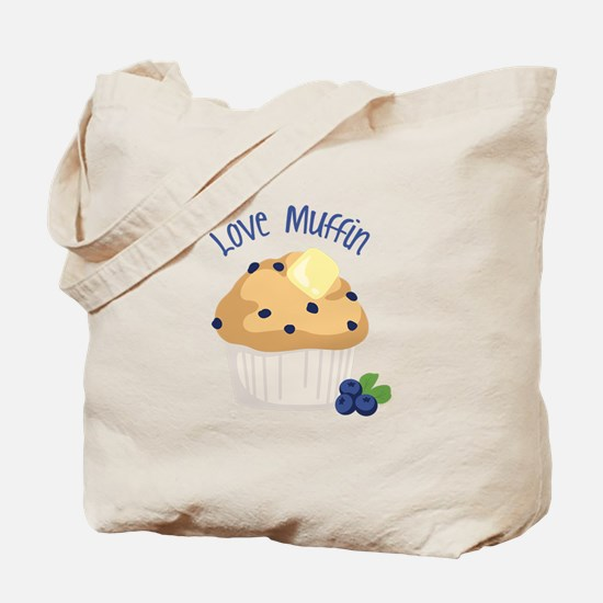 Love Muffin Tote Bag
