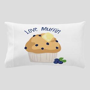 Love Muffin Pillow Case