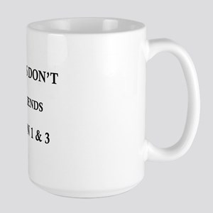 Friends Don't Let Friends Clap on 1 & 3 Mugs