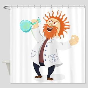 Mad Scientist Shower Curtain
