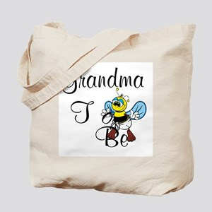 Playful Grandma To Bee Tote Bag