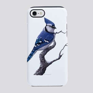 blue jay bird iPhone 7 Tough Case