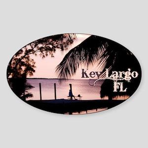 Key Largo, FL Sunset Sticker