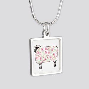 Floral Sheep Necklaces