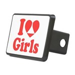 I Heart Girls Hitch Cover