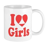 I Heart Girls Mugs