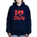 I Heart Girls Hooded Sweatshirt