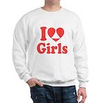 I Heart Girls Sweatshirt