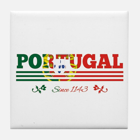 Portugal since 1143 Tile Coaster