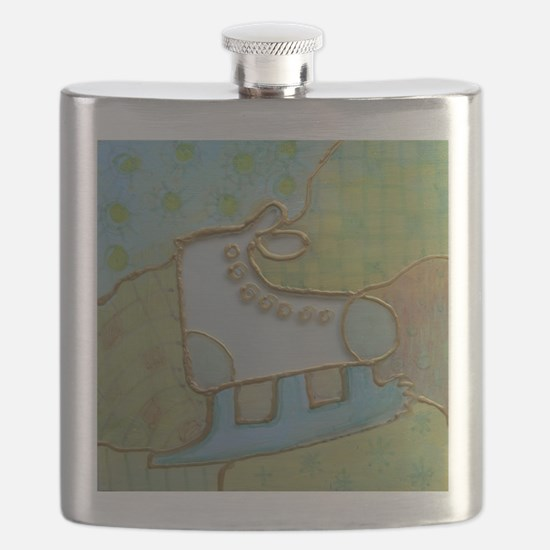 The ice skater Flask