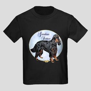 Gordon Portrait Kids Dark T-Shirt