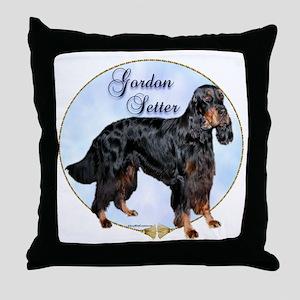 Gordon Portrait Throw Pillow