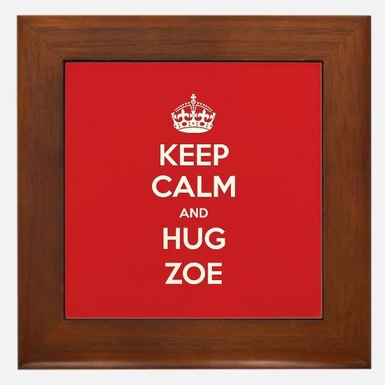 Hug Zoe Framed Tile