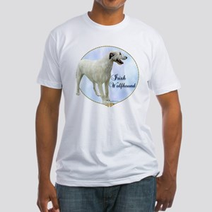 Wolfhound Portrait Fitted T-Shirt