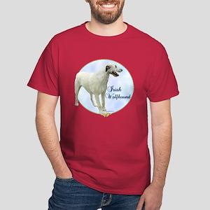 Wolfhound Portrait Dark T-Shirt