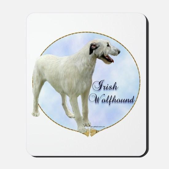 Wolfhound Portrait Mousepad